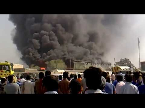fire in labour camp at alkhore doha