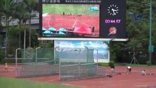 聖言中學田徑隊 南華學界2015 男甲4X100米接力(DQ