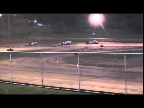 AMRA Late Model Heat #1 from Ohio Valley Speedway 9/6/14.