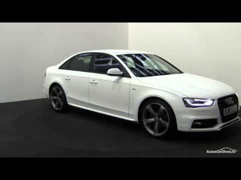 2013 AUDI A4 TFSI S LINE BLACK EDITION S/S - YouTube