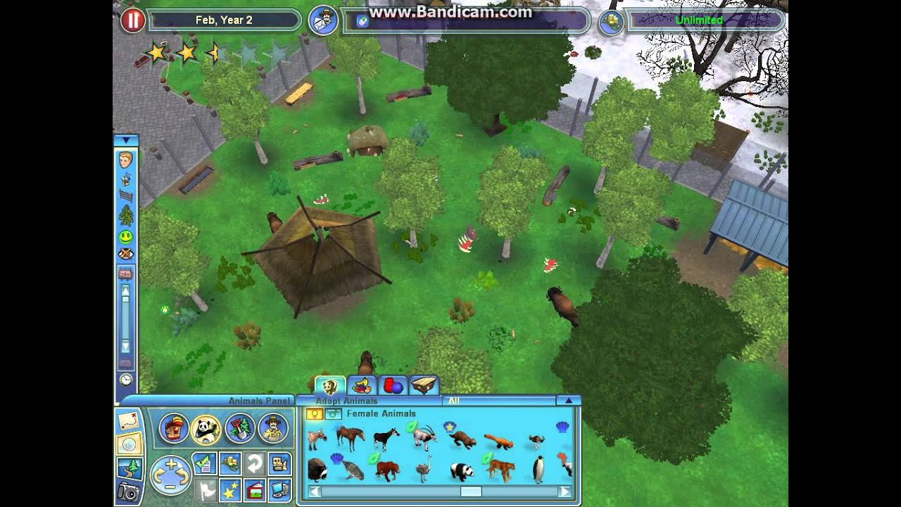 how to play zoo tycoon 2