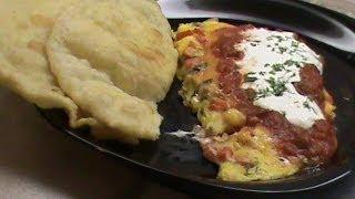 No-flip Omelet