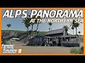ALPS PANORAMA AT THE NORTHERN SEA | FS19 First Look & Map Tour