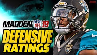 Madden 19 Defensive Ratings Analysis