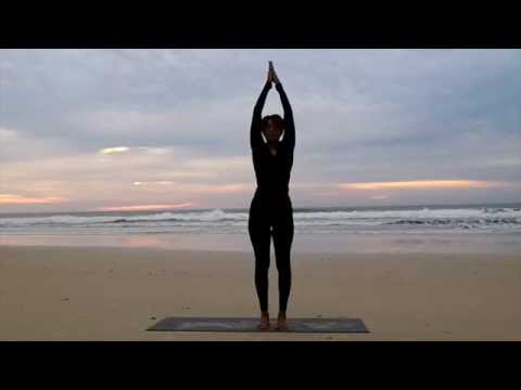 Chandra Namaskar   Moon Salutation