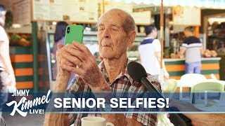 Can Old People Take Selfies?