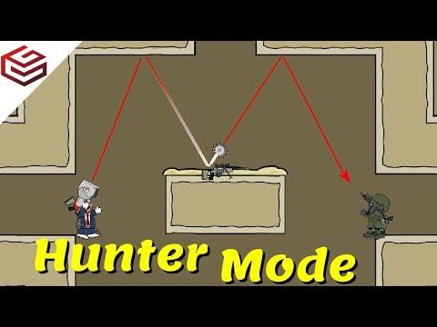 "DA2 MiniMilitia The All New ""HUNTER MODE"" Gameplay"