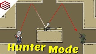 "DA2 MiniMilitia The All New ""HUNTER MODE"" Gameplay"