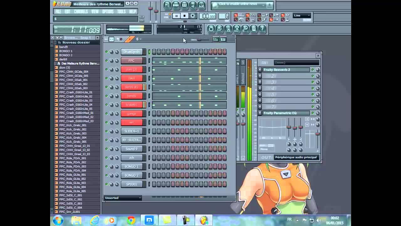 rythme berwali fl studio 12