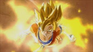Goku vs Vegeta Dragon Ball Z Burst Limit Gameplay PS3