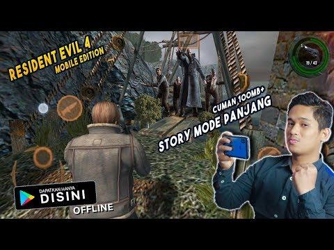 Versi Baru Story Modenya Panjang | 100MB+ | Resident Evil 4 Mobile Edition Android | OFFLINE