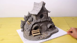 How to Make an awesome Cement House Lamp ! Concrete Project You Can Make at Home