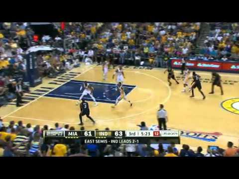 NBA Playoffs 2012: NBA Miami Heat Vs Indiana Pacers Highlights May 20, 2012 Game 4