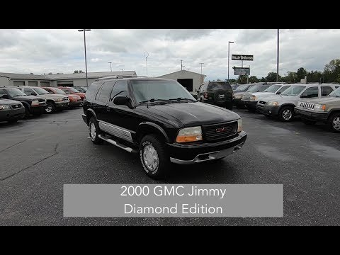 2000 GMC Jimmy Diamond Edition 4X4|Walk Around Review|In Depth Review