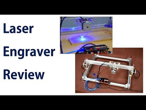 Reviewing a Wood Laser Engraver / Laser Engraving Machine
