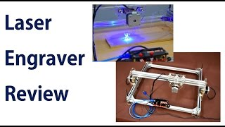 Reviewing a Laser Engraver - Sponsored