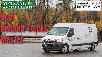 Ammattilehti koeajaa: Renault Trucks Master  L3H2 150 M6 Red Edition