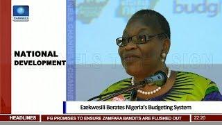 Obi Ezekwesili Berates Nigeria's Budgeting System 15/08/18 Pt.2  News@10 
