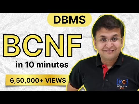 part-12 | BCNF in DBMS in HINDI with example | boyce codd normal formNORMALIZATION identify