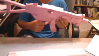 how to make a paper ump 45 part 1
