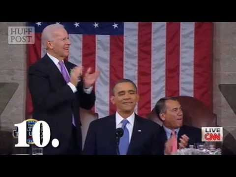 John Boehner At Obama Address: House Speaker Stays Seated During Applause