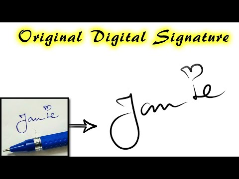 How To Create ORIGINAL SIGNature As Digital (PNG) File In Android Mobile