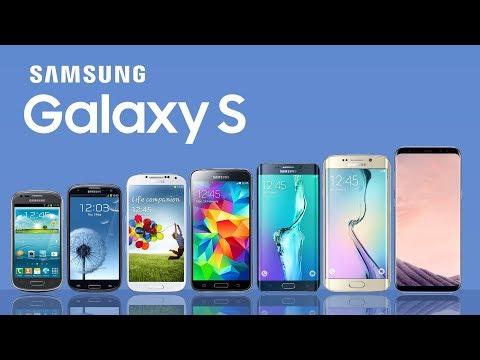 Evolution Of Samsung Galaxy S Series