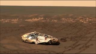 UFO NEAR OPPORTUNITY ROVER LANDING SITE. Watch in HD.