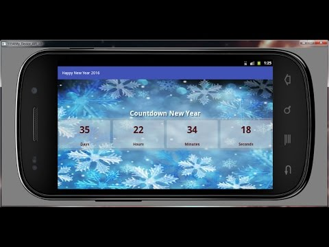Best New Year Countdown 2016 Android App
