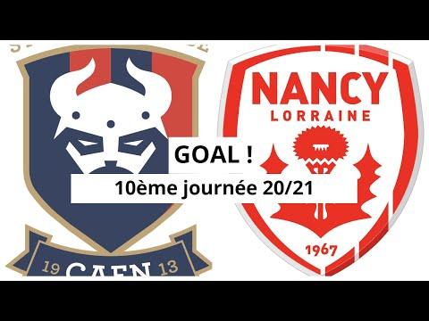 Caen Nancy Goals And Highlights
