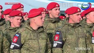 Российские военнослужащие вернулись в Дагестан после выполнения боевых  задач в Сирии