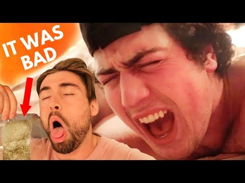 HE LET US WAX IT!! (PAINFUL)