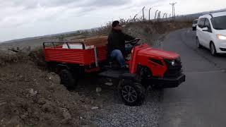 Katsu Multipurpose tractor - Downhill test