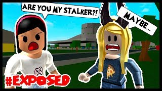 MY CREEPY STALKER IS A LIAR! #EXPOSED! - Roblox