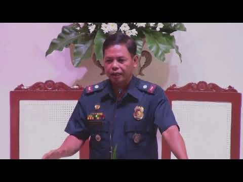 Chief Police Inspector Jovie R. Espenido  (Cebu City SDA Church)