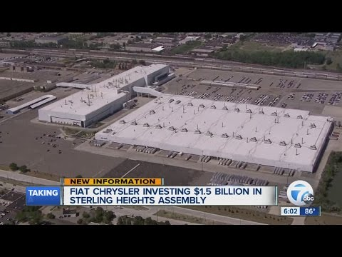 Fiat Chrysler investing in Sterling Heights