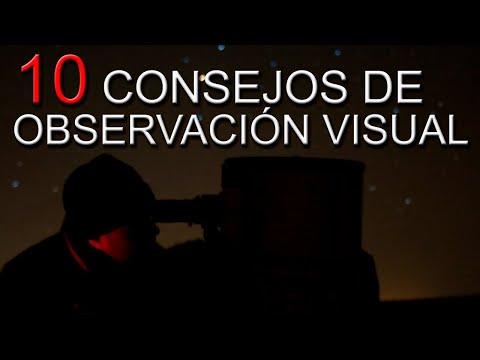 10 consejos de OBSERVACIÓN ASTRONÓMICA con tu TELESCOPIO ✔🔭