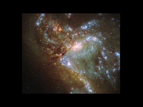 NASA Hubble captures merging of 2 galaxies for the first time