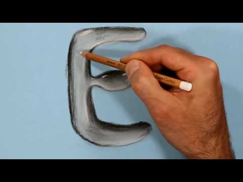 let's-to-draw-a-letter-e-in-water-with-dry-pastel-pencils