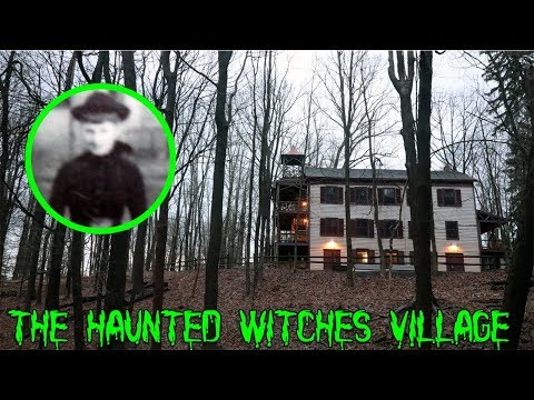 THE HAUNTED WITCHES VILLAGE! SEARCHING FOR THE MYSTERY CABIN