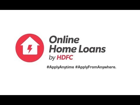 hdfc housing loan login