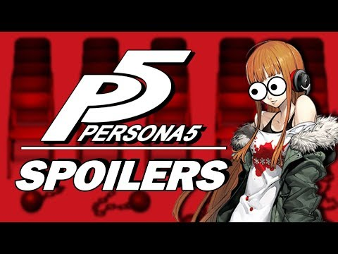 Yelling About Persona 5 Spoilers (ft. Shenpai)