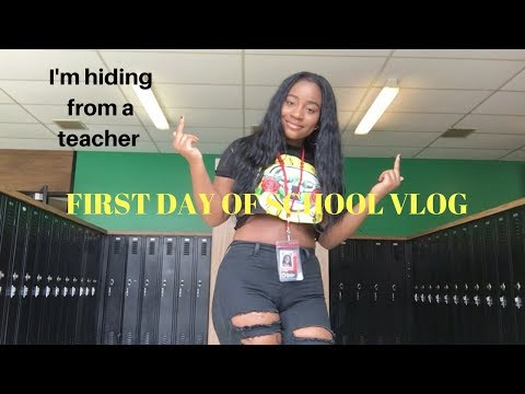 My  First day of 7th grade Vlog 2017