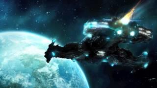Звуки пролетающих кораблей мимо, посадка космического корабля, гул турбины, Sounds ships flying pas