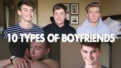 10 Types of Boyfriends