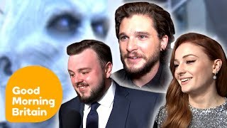 Game of Thrones Cast Talk Season 7 and Spoilers   Good Morning Britain
