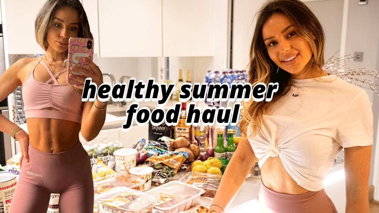 HEALTHY (ISH) FOOD HAUL Summer Party + Snacks