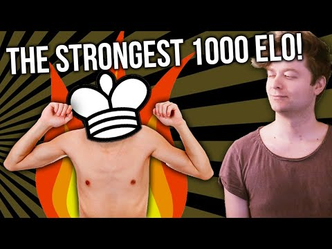STRONGEST 1000 ELO EVER? | GM Aman Hambleton