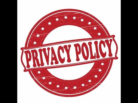 موضوع شامل من الأخ Soufiane Khiri عن privacy policy