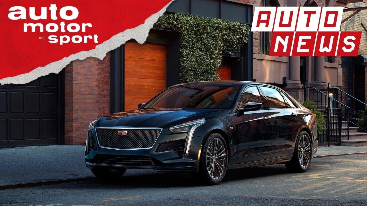 Cadillac CT6 (2018): Facelift und neuer V8 - NEWS | auto motor und sport